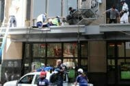 Worker Falls Four Stories When Cable Snaps