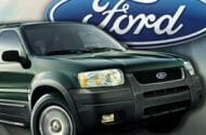 Ford Recalls 262,113 Escape SUVs
