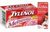 Three Varieties of Childrens Tylenol Recall
