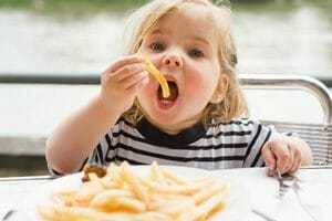 Childhood Consumption of French Fries