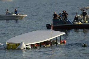 Tour Boat Capsizes