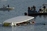 Tour Boat Capsizes 20 Die in NY Lake