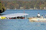 Tour Boat Overturns on Lake George