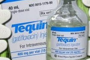 Tequin with hypoglycemia