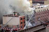 1 Dead, 2 Hurt in Partial Manhattan Building Collapse