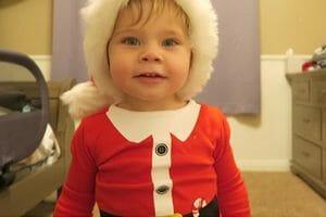 Infant Santa Outfits