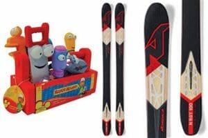 Nordica Skis, disney toys
