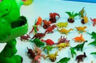 Dinosaur Play Sets Recalled for Violation of Lead Paint Standard