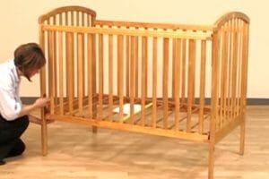 Simplicity Drop Side Crib