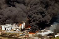 Texas Chemical Plant Fire Prompts Evacuations
