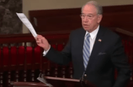 Senator Grassley Looking for Funding Conflicts at 33 Non-Profit Medical Groups