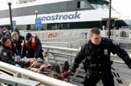 Fifty Injured in Ferry Crash