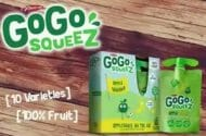 GoGo squeeZ Children's Snack Food Company Recalls Applesauce Products Due to Mold