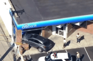 SUV Crashes through Front Window of Brooklyn Citibank Branch