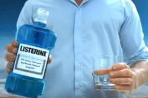 Listerine Mouthwash Biofilm