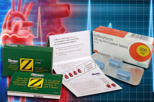 Azithromycin Zithromax Z Pak Heart Rhythm Side Effect