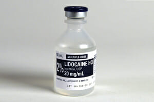 FDA Against Using Lidocaine