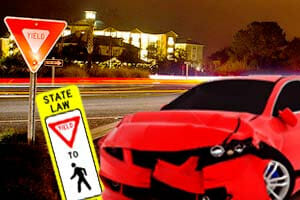 Failure yield Car Accidents