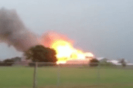 Mont Belvieu, TX Plant Explosion Fire