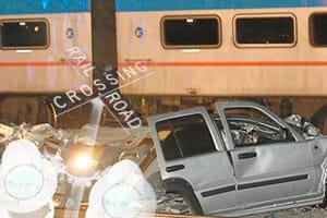 Train accident NY LI