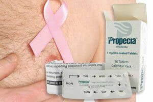 propecia linked to male breast cancer side effect