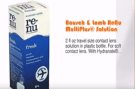 Health Canada ReNu MultiPlus Contact Lens Solution Warning