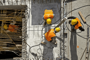 Construction Site Injuries workers