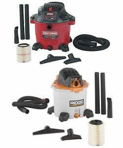 Sears Craftsman and Emerson Rigid Wet/Dry Vac Lawsuits