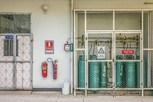 Cylinder Storage Fires and Explosions, Safety Measures