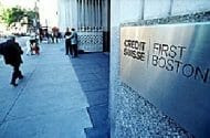 Massachusetts May File Fraud Charges Against Credit Suisse First Boston