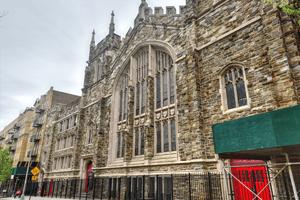 Man Injured in Church