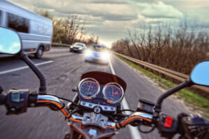 motorcyclist died in a crash