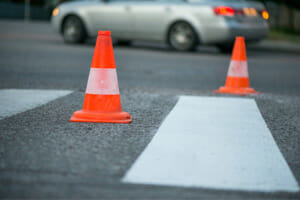Car backing up kills pedestrian in copiague, new york