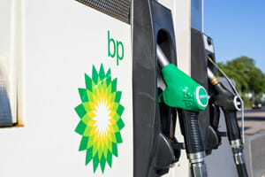 Drunk driver crashes into bp gas station