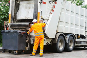 One Seriously Injured in Garbage Truck Accident on W. Commercial Blvd. in Lauderhill, Florida