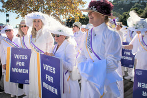 The 19th amendment and the women's suffrage movement