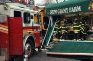 Accident Involving School Bus and Truck in Queens Leaves Four People Injured