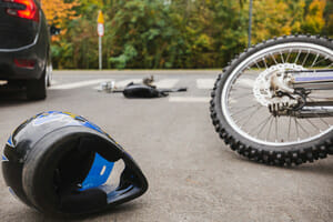 Bicycle rider and motorcycle rider killed in collision