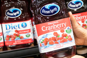 Ocean spray product recalled