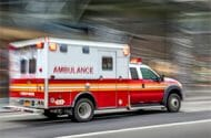 Ambulance Accident in Plainview, New York