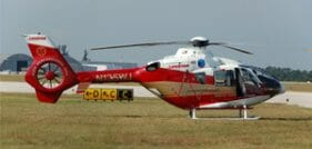 Motorcycle Rider Airlifted from Long Island Accident Scene