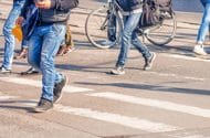 Long island's pedestrian safety enhancements have been completed